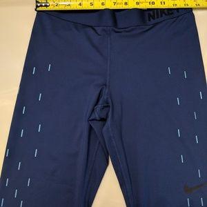 Nike Pants - Nike linear rain dri fit capri leggings